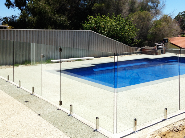 Frameless glass pool fencing in brisbane crystal fencing for Pool fence design qld
